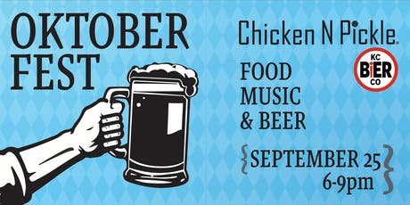 Oktoberfest at Chicken N Pickle tickets