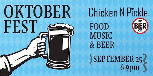 Oktoberfest at Chicken N Pickle
