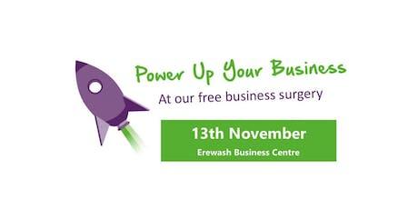 Erewash Business Surgeries  tickets
