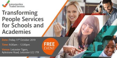 Transforming People Services for Schools and Academies