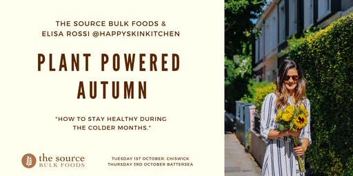Plant Powered Autumn- How to stay healthy during the colder months