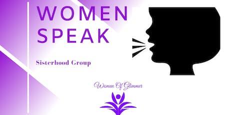 Women Speak Group tickets