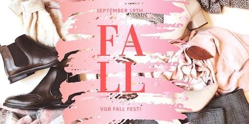 Fall Fest at VGB