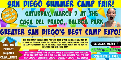 San Diego Camp Fair at Balboa Park
