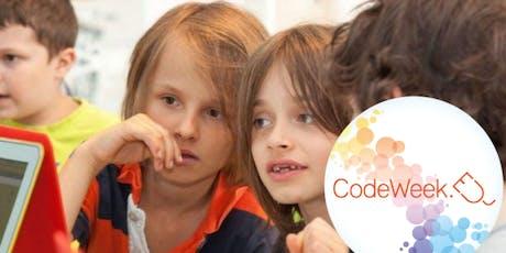 Kostenloser Aktionsvormittag: Code Week 2019 Tickets