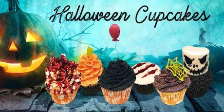 Halloween Cupcakes Class - 2 h 30 min - evening class tickets