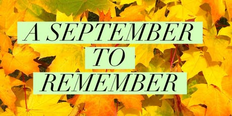 """Ray of Hope's """"A September To Remember"""" Church Cookout tickets"""