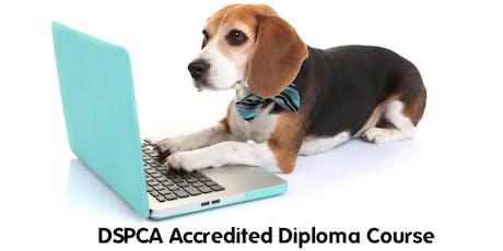 Canine Behavior & Dog Training Diploma Course January 2020 tickets