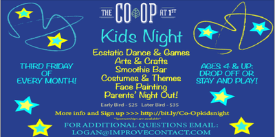 Kids Event, Parents Night Out!