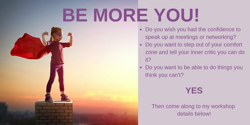 Workshop: Be More You!
