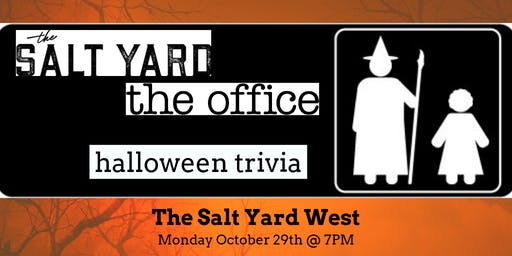 The Office *HALLOWEEN EPISODES* Trivia at The Salt Yard West