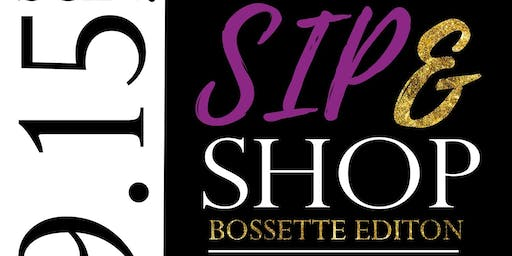2019 Sip and Shop: Bossette Edition