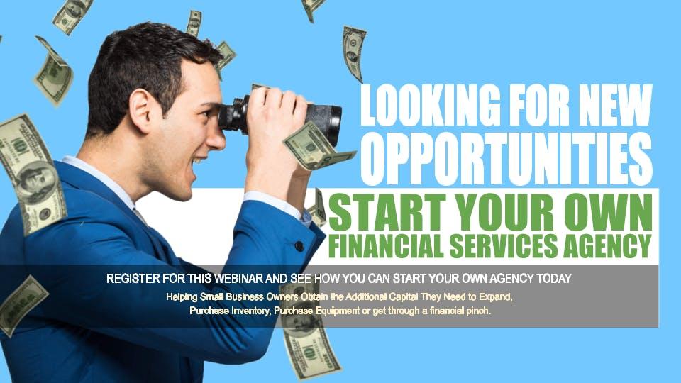 Start your Own Financial Services Agency Oak Park IL