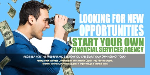 Start your Own Financial Services Agency Oak Park IL