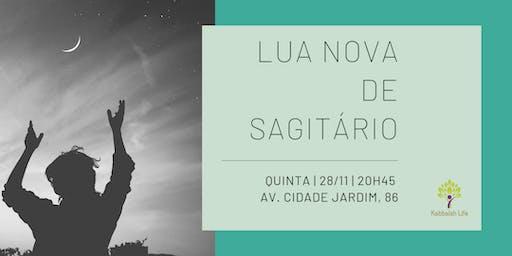 Lua Nova de Sagitário