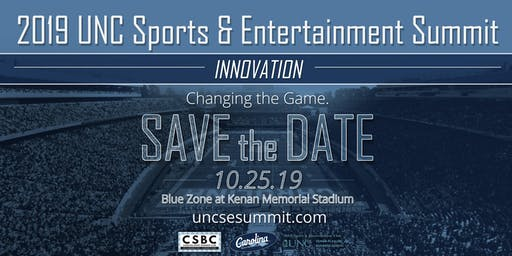 2019 UNC Sports & Entertainment Summit