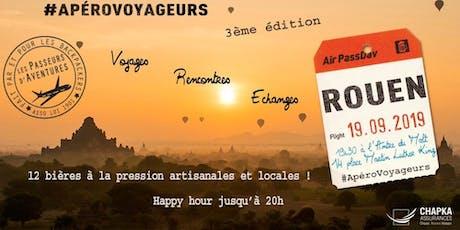 ApéroVoyageurs de rentrée à Rouen billets
