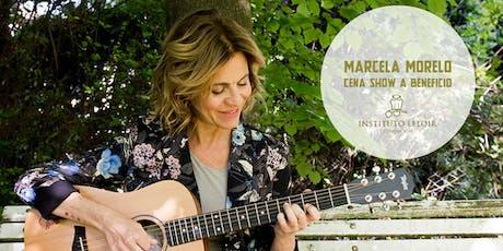Marcela Morelo  a beneficio de la Fundación Instituto Leloir entradas