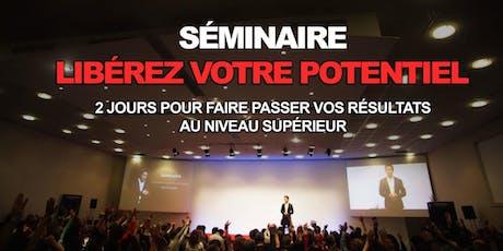 """BRUXELLES 5-6 Octobre 2019 Séminaire """"Libérez votre potentiel"""" 2j billets"""