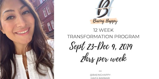 Baeing Happy Transformation Coaching - 12 Wk Course & Graduation Singles Party