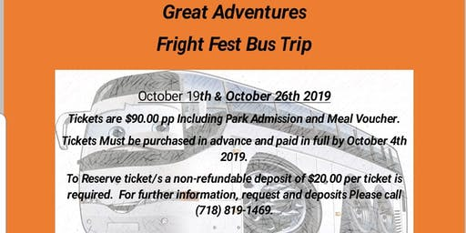 Great Adventures Fright Fest!!!