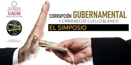 Corrupción Gubernamental tickets