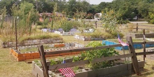 Cedar Hill Community Garden Work Day, Part 2