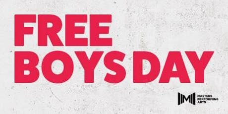 MASTERS FREE BOYS DAY - SUNDAY 19TH JANUARY 2020 tickets