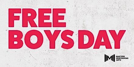 MASTERS FREE BOYS DAY - SUNDAY 19TH JANUARY 2020