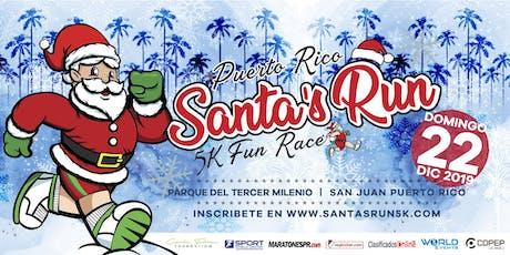 SANTA'S RUN® 5K - VIP REGISTRATION entradas