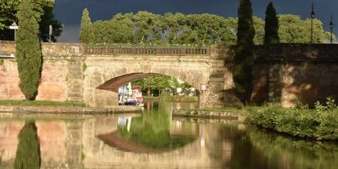 De Mortagne sur Gironde jusqu'à Port Saint-Louis du Rhône. | Par Antoine Rose