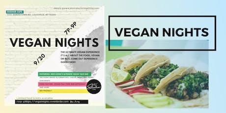 Louisville's Vegan Nights tickets