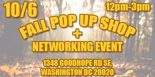 Fall Pop Up Shop + Network Event