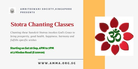 Stotra Chanting Classes tickets