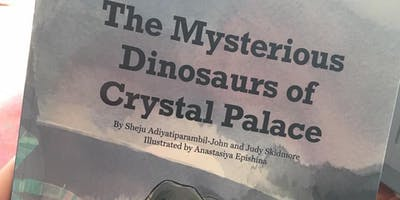 Storytime on Dino Island at the Crystal Palace Din