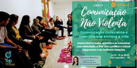Curso Comunicação Não Violenta: A Linguagem da Empatia | Módulo I (Ed Out) ingressos