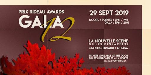 12th Prix Rideau Awards Gala / 12e Gala des Prix Rideau Awards