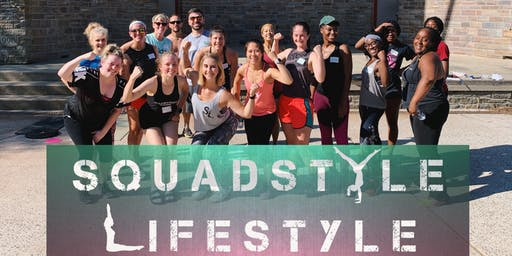 Squadstyle Workout at Baker Park - last one for this year!