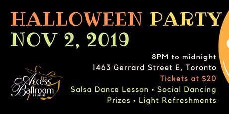 Access Ballroom - Halloween Social Dance Party 2019 tickets