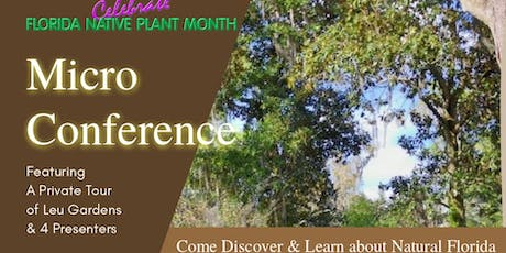 Microconference Celebrating Florida's Environment tickets