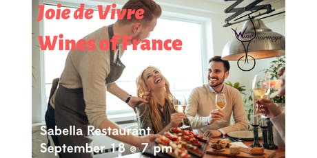 Joie de Vivre - Wines of France tickets