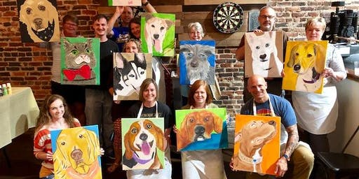 Paint Your Pet! at Dust Off Brewing