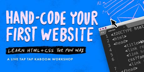 Hand-Code Your First Website tickets