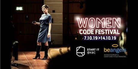 Women in Tech Ladies Pitch Night @ Women Code Festival #3 tickets