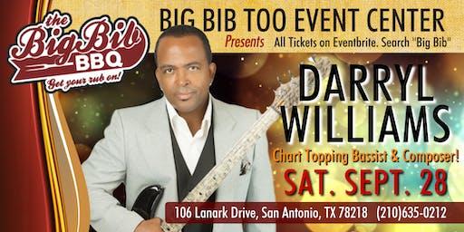 Chart Topping Bassist Darryl Williams LIVE at The Big Bib Too!