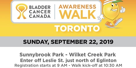 Bladder Cancer Canada Awareness Walk tickets