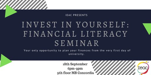 Invest in Yourself: Financial Freedom Seminar