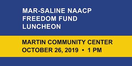 Mar-Saline Branch NAACP Freedom Fund Luncheon tickets