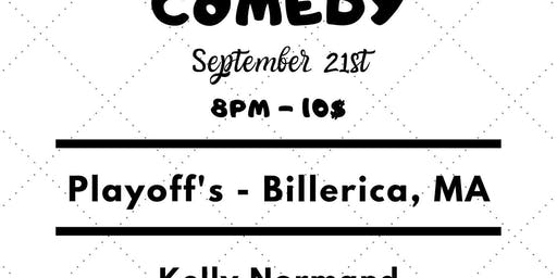 Playoff's Comedy Presents: September Showcase