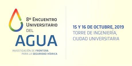 8º Encuentro Universitario del Agua boletos